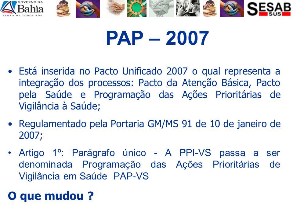 PAP – 2007