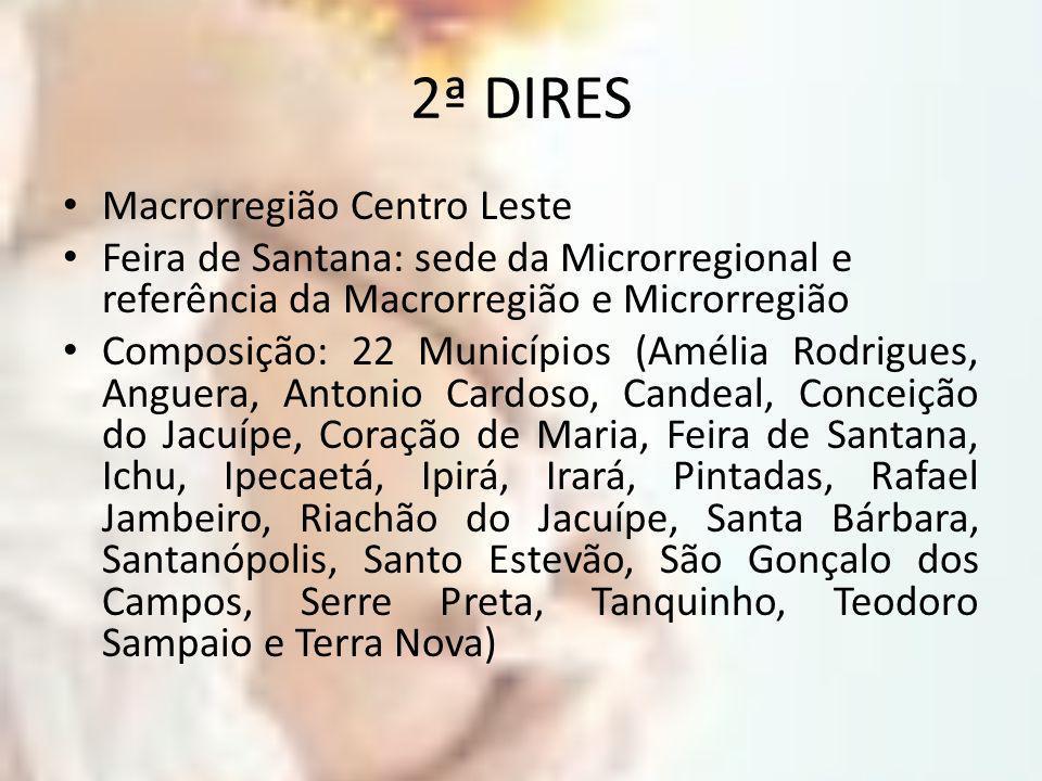 2ª DIRES Macrorregião Centro Leste