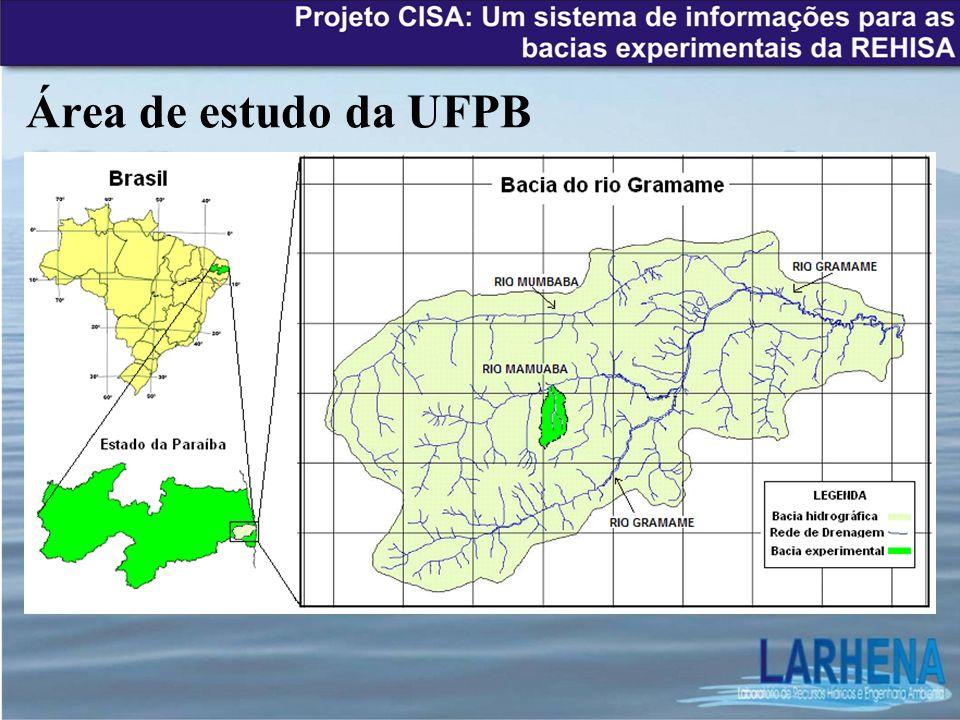 Área de estudo da UFPB