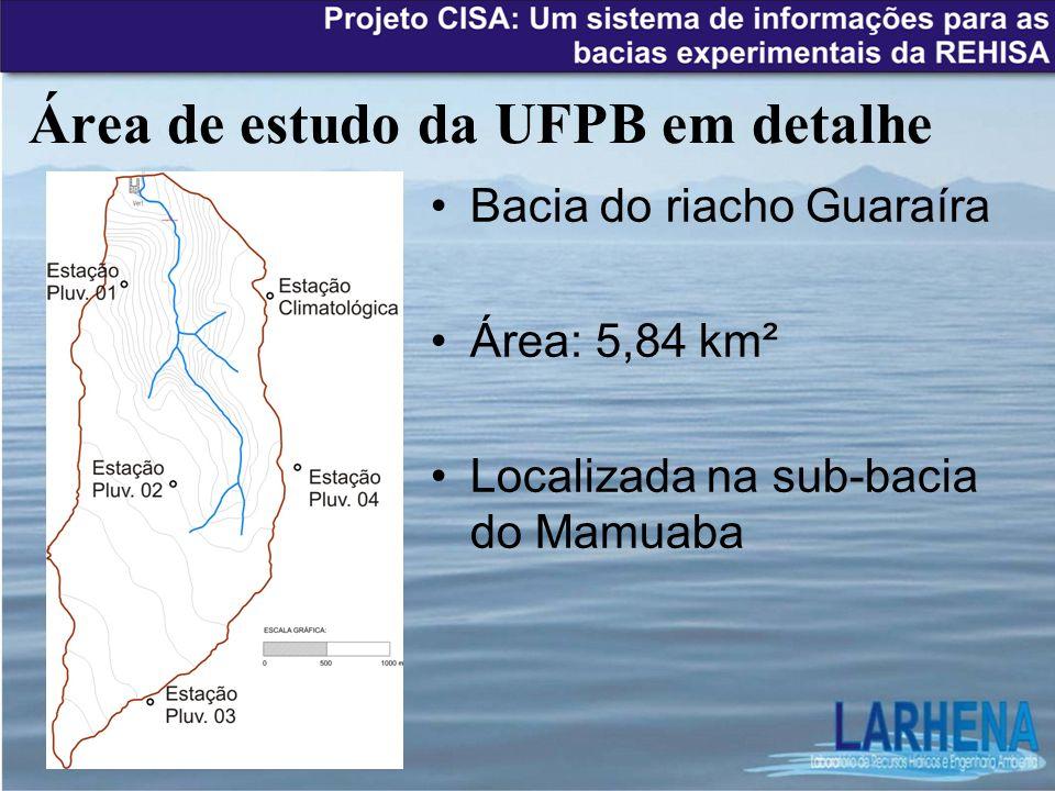 Área de estudo da UFPB em detalhe