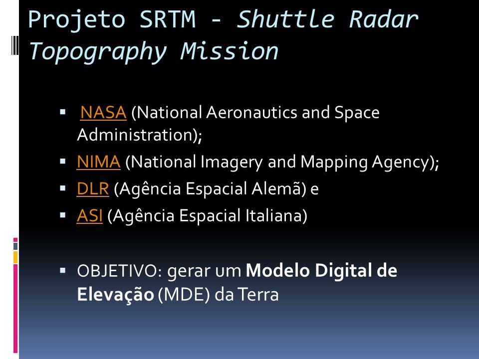 Projeto SRTM - Shuttle Radar Topography Mission