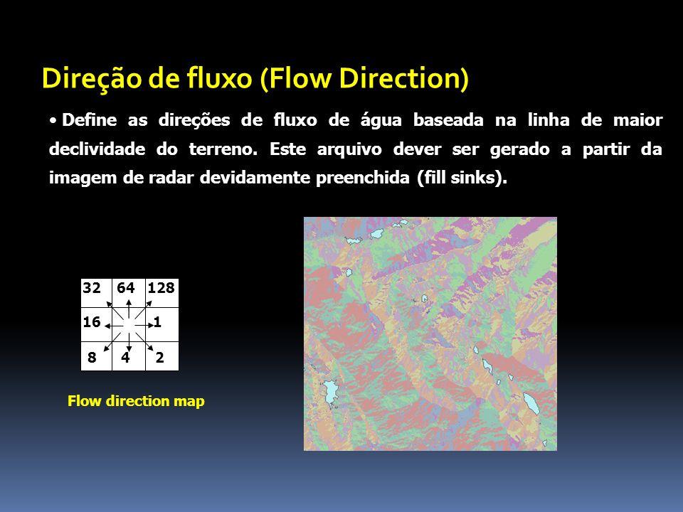 Direção de fluxo (Flow Direction)