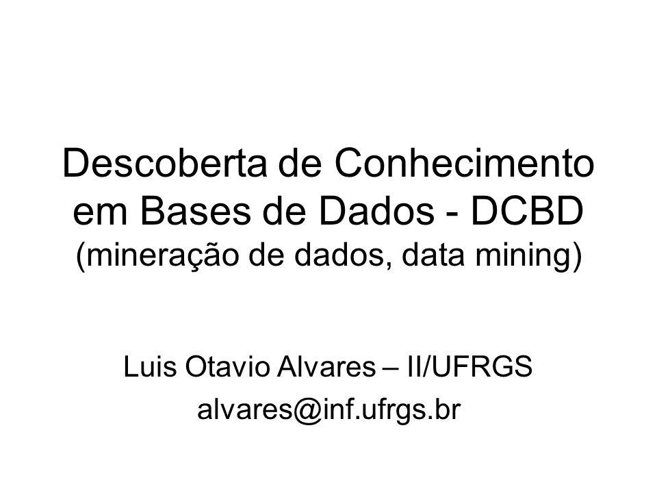 Luis Otavio Alvares – II/UFRGS alvares@inf.ufrgs.br