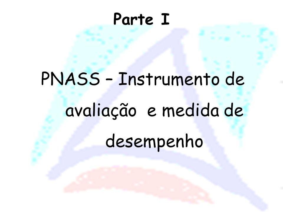 PNASS – Instrumento de avaliação e medida de desempenho