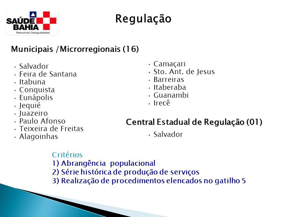 Regulação Municipais /Microrregionais (16)