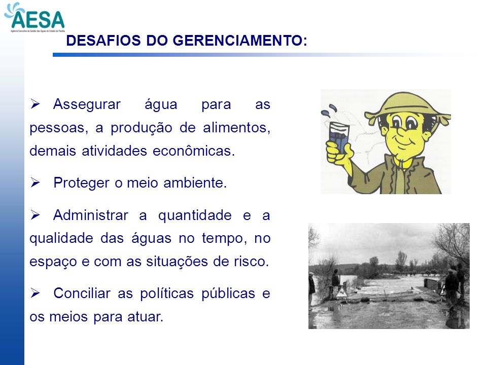 DESAFIOS DO GERENCIAMENTO: