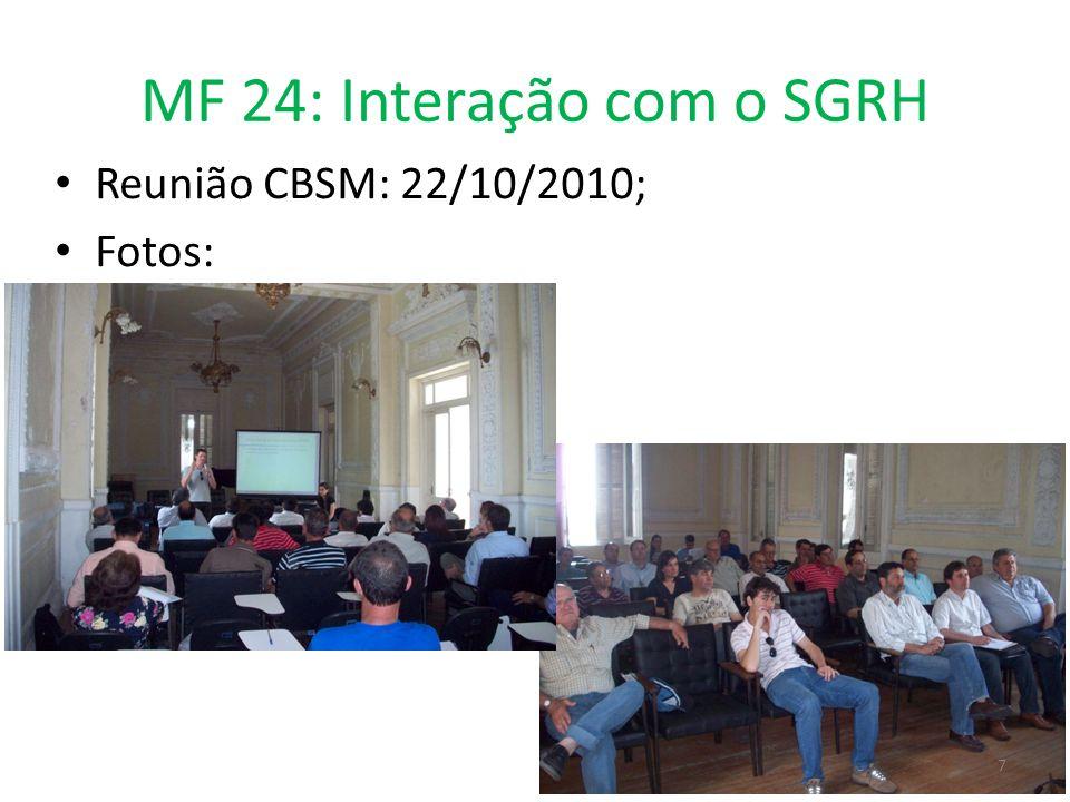 MF 24: Interação com o SGRH