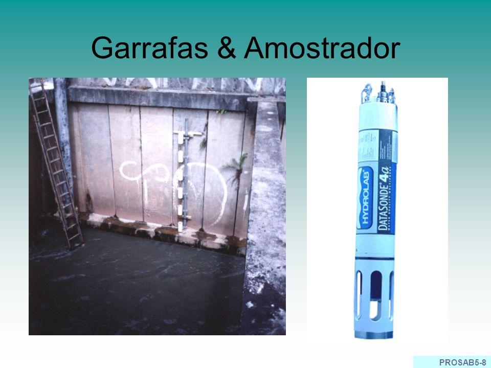 Garrafas & Amostrador