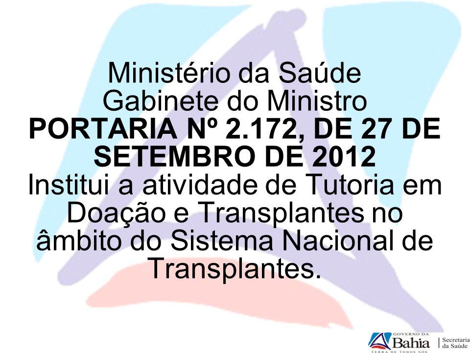 Ministério da Saúde Gabinete do Ministro PORTARIA Nº 2