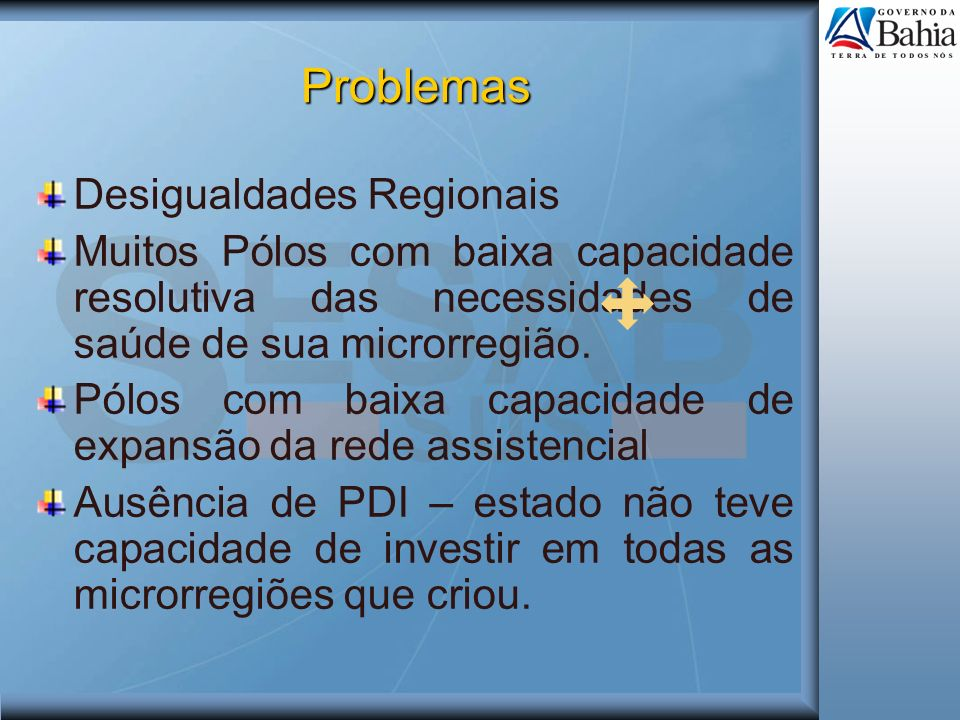 Problemas Desigualdades Regionais