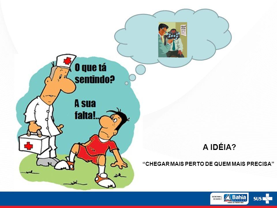 CHEGAR MAIS PERTO DE QUEM MAIS PRECISA