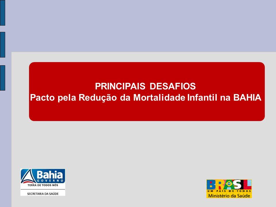 Pacto pela Redução da Mortalidade Infantil na BAHIA