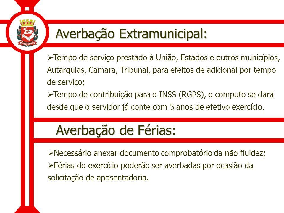 Averbação Extramunicipal: