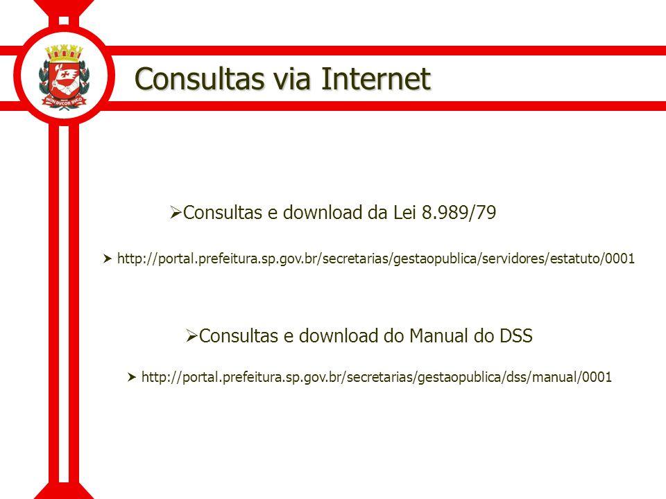 Consultas via Internet