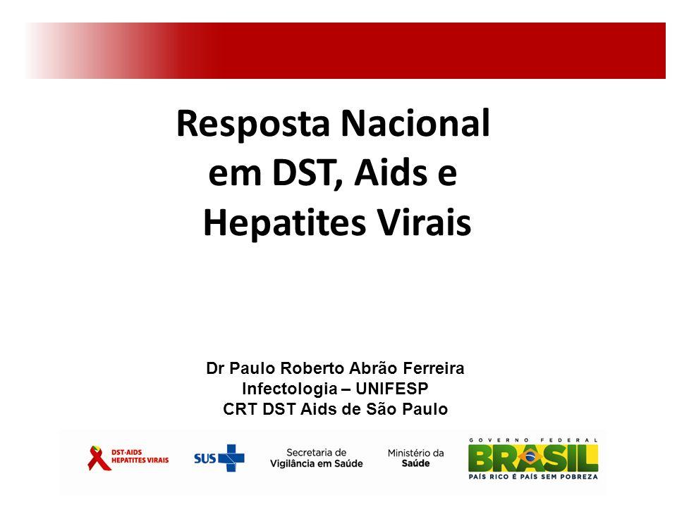 Resposta Nacional em DST, Aids e Hepatites Virais