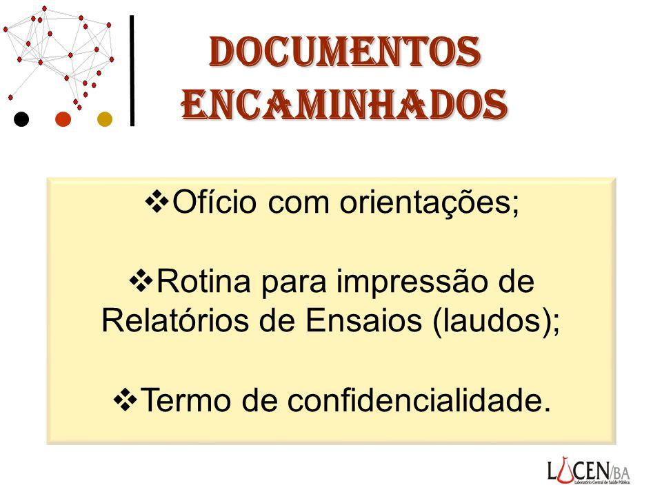 DOCUMENTOS ENCAMINHADOS