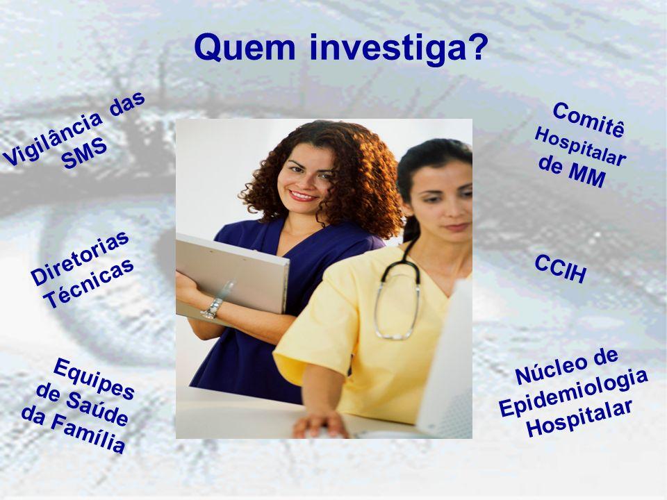 Comitê Hospitalar de MM Núcleo de Epidemiologia Hospitalar