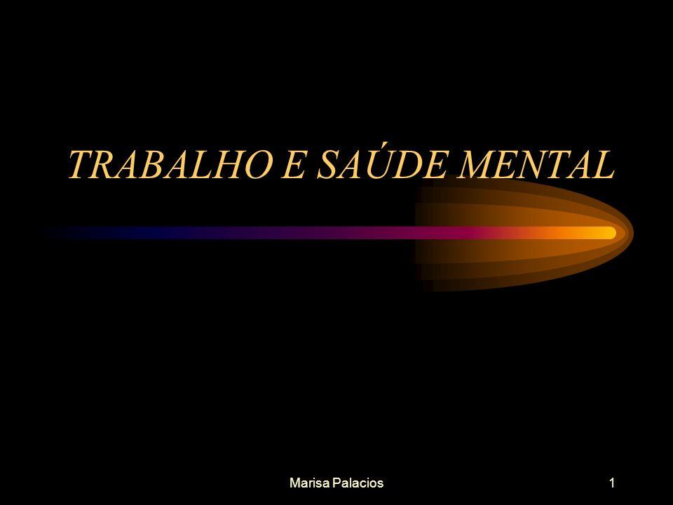 TRABALHO E SAÚDE MENTAL