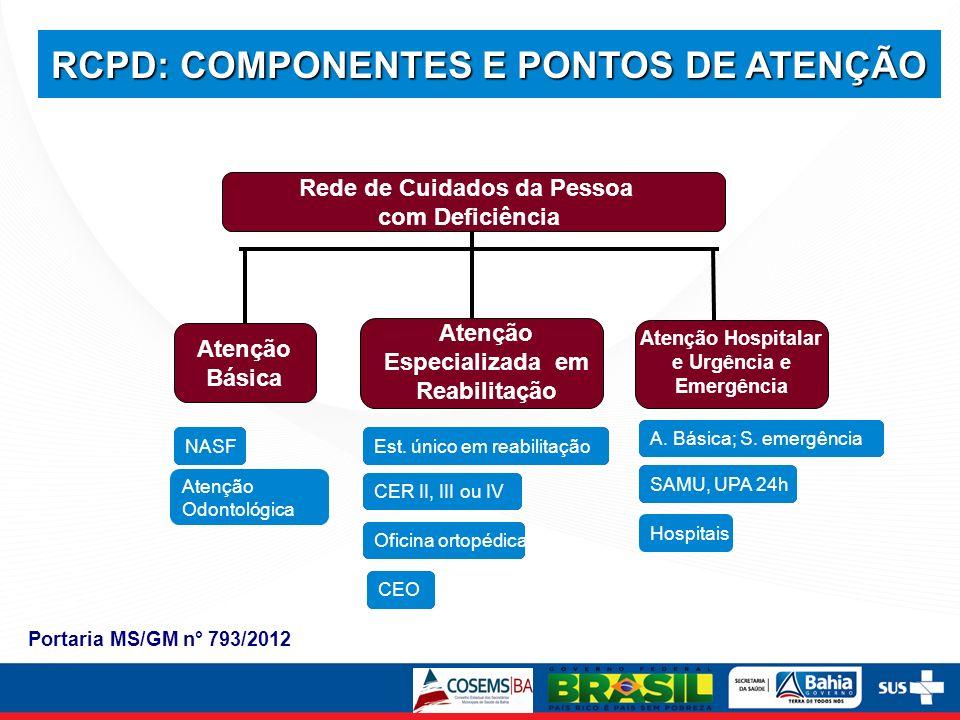RCPD: COMPONENTES E PONTOS DE ATENÇÃO