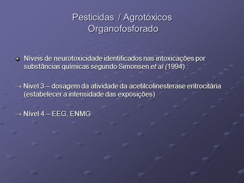 Pesticidas / Agrotóxicos Organofosforado
