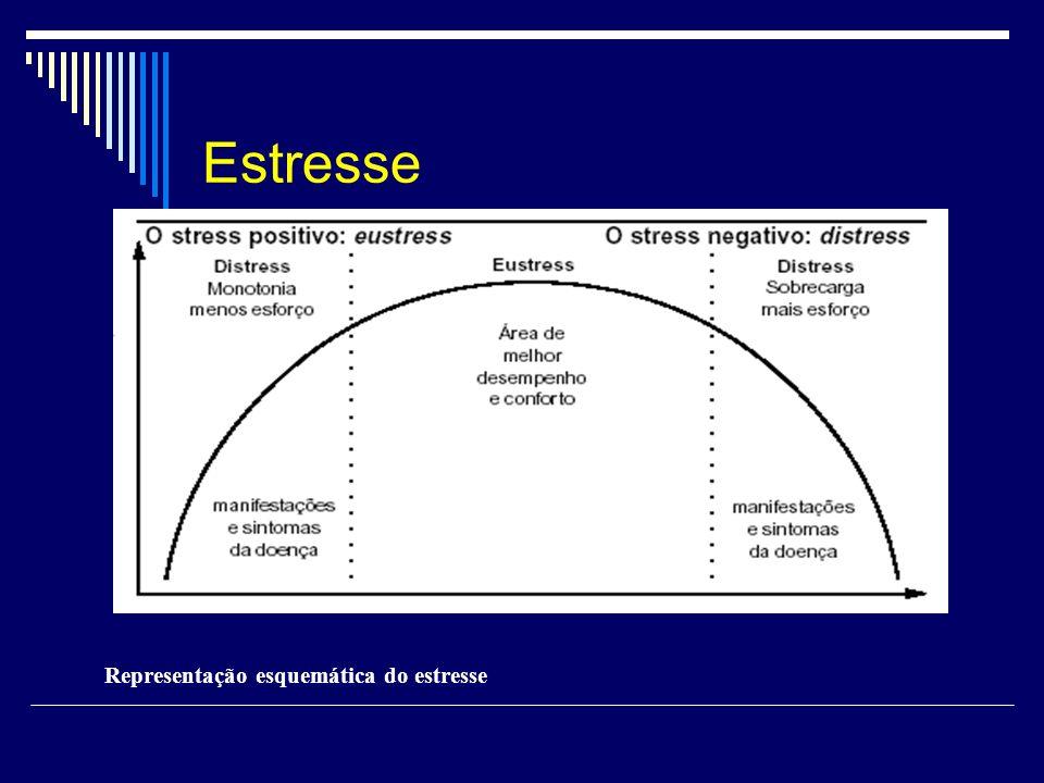 Estresse Representação esquemática do estresse