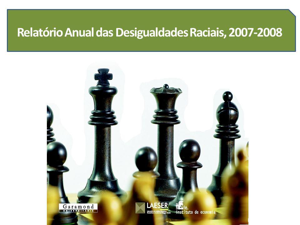 Relatório Anual das Desigualdades Raciais, 2007-2008