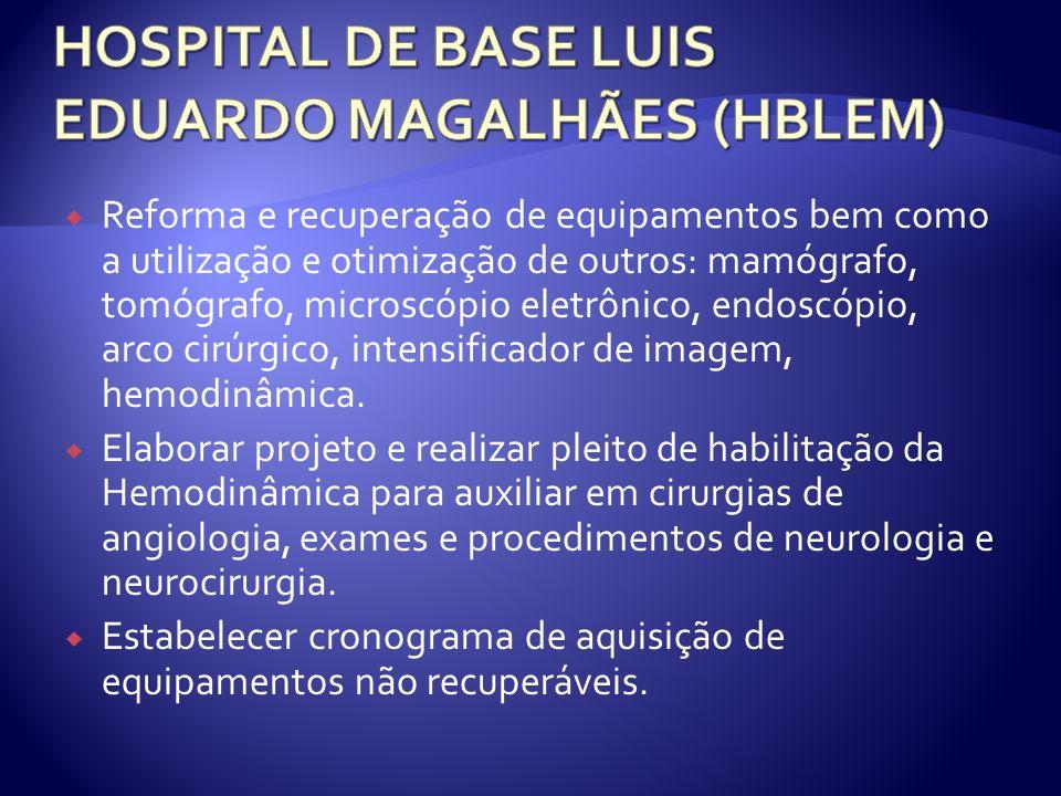 HOSPITAL DE BASE LUIS EDUARDO MAGALHÃES (HBLEM)