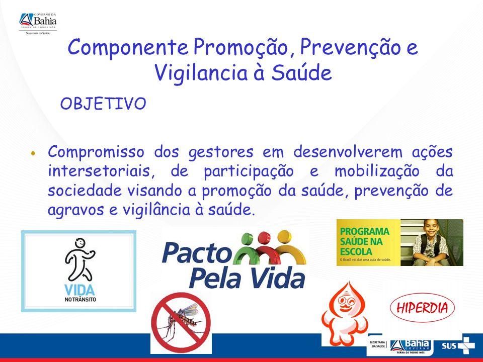 Componente Promoção, Prevenção e Vigilancia à Saúde