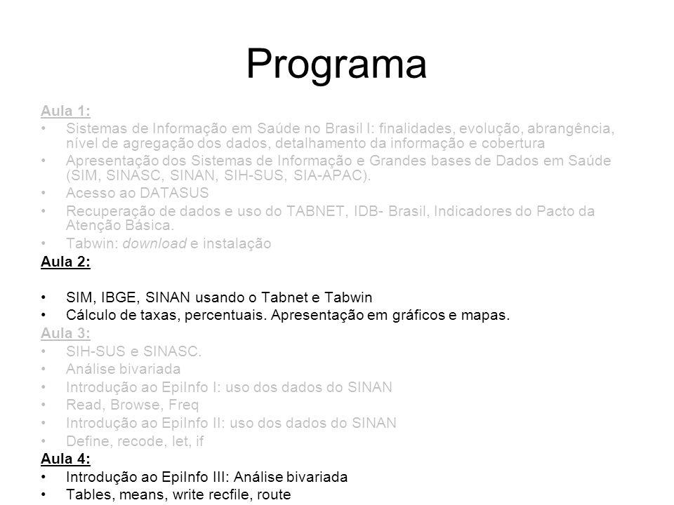 ProgramaAula 1: