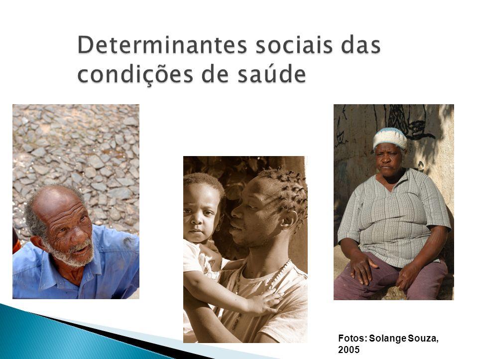 Determinantes sociais das condições de saúde