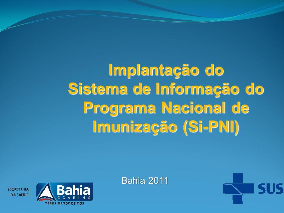 Sistema de Informação do Programa Nacional de Imunização (Si-PNI)