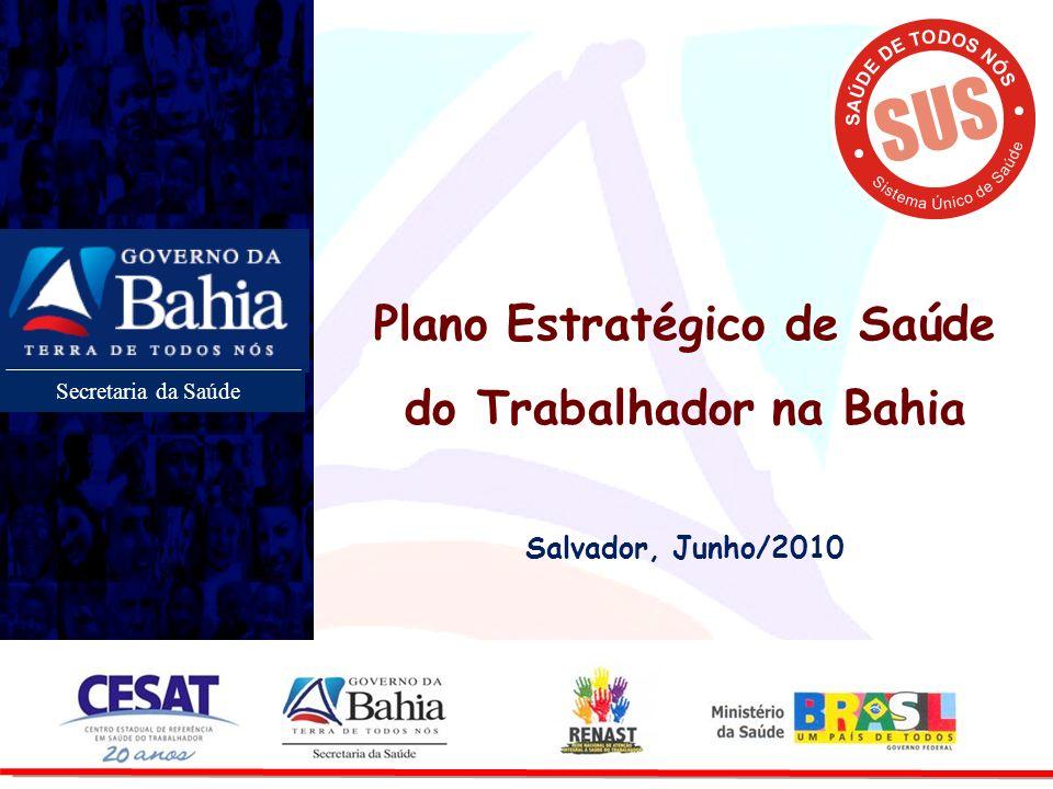 Plano Estratégico de Saúde do Trabalhador na Bahia
