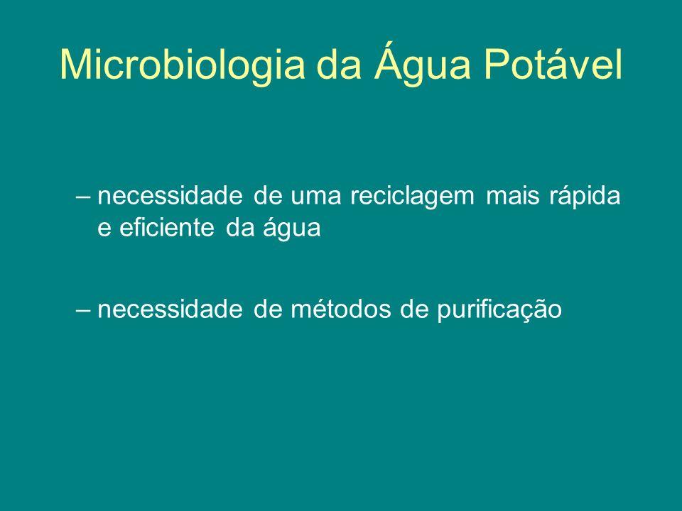Microbiologia da Água Potável