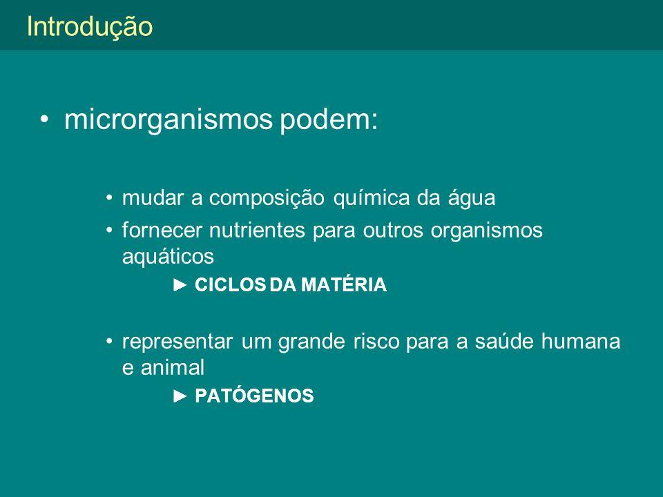 microrganismos podem: