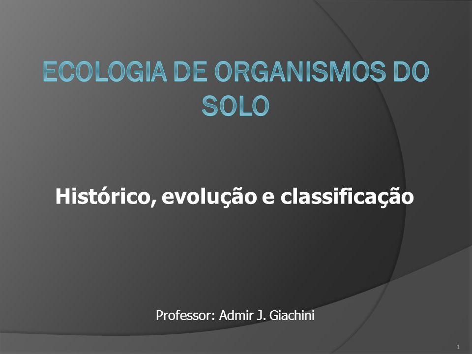 ECOLOGIA DE ORGANISMOS DO SOLO