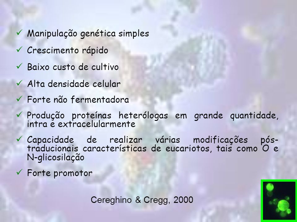 Manipulação genética simples