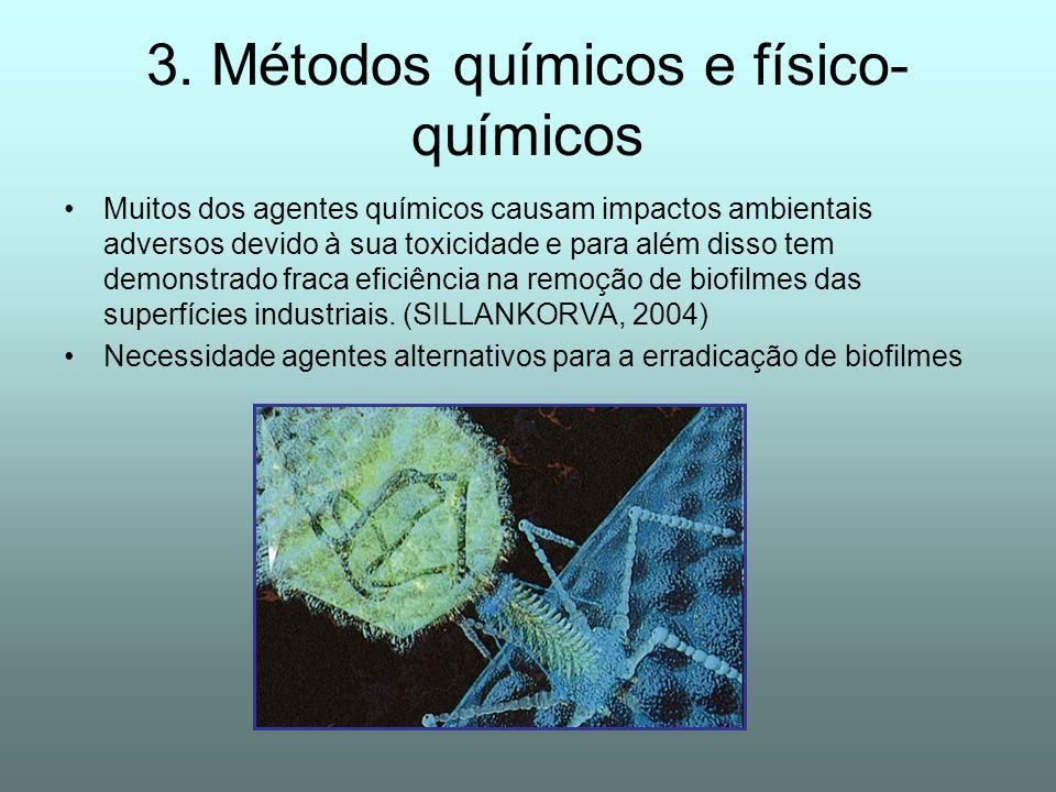 3. Métodos químicos e físico-químicos