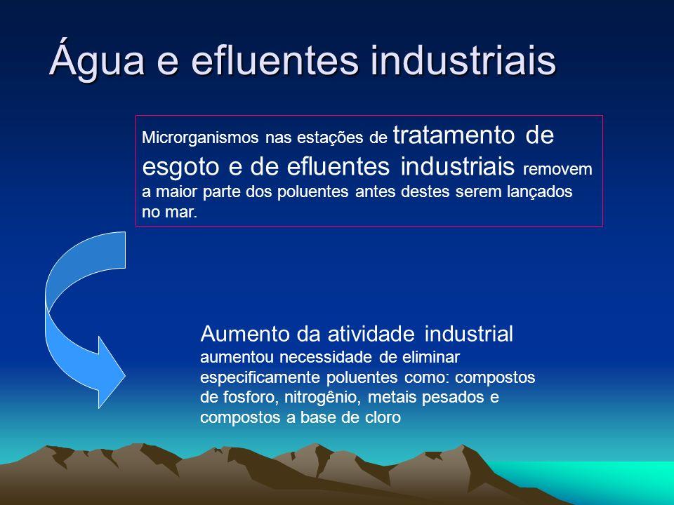 Água e efluentes industriais