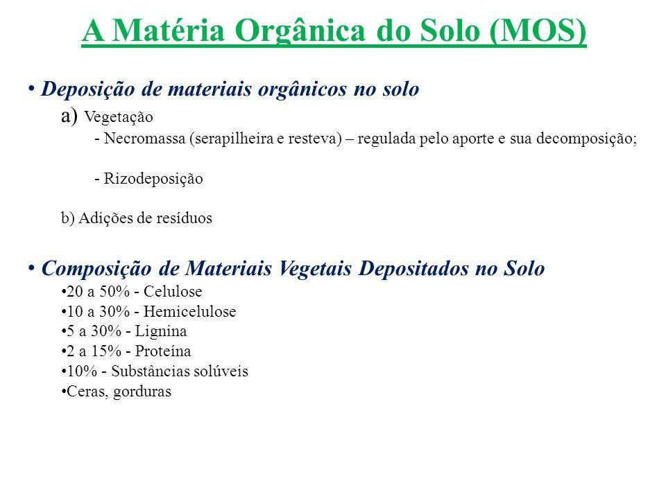 A Matéria Orgânica do Solo (MOS)