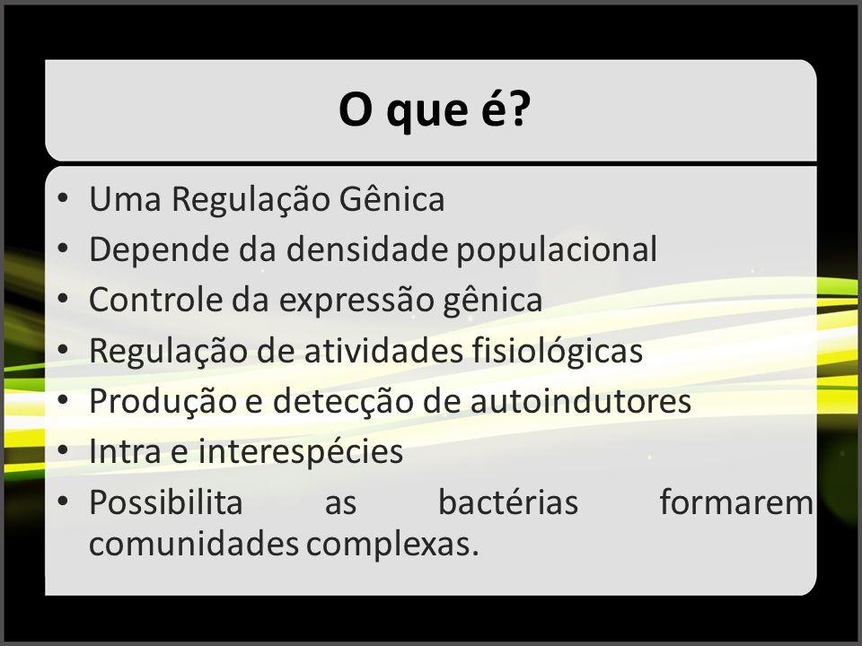 O que é Uma Regulação Gênica Depende da densidade populacional