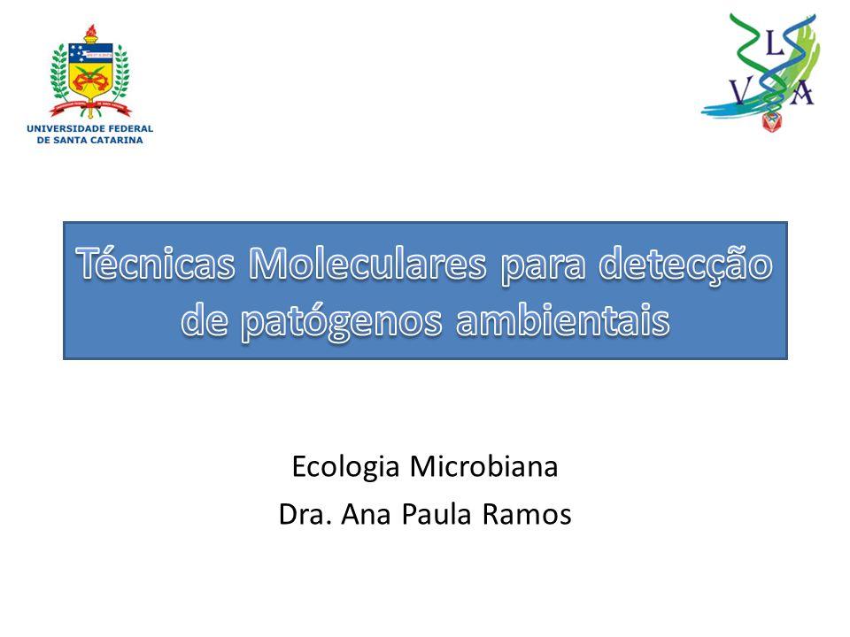 Técnicas Moleculares para detecção de patógenos ambientais
