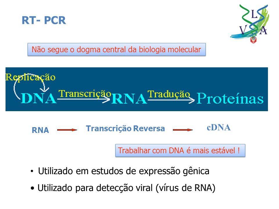 Não segue o dogma central da biologia molecular