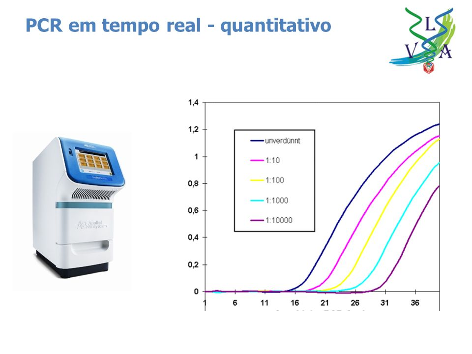 PCR em tempo real - quantitativo
