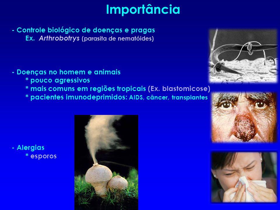 Importância - Controle biológico de doenças e pragas