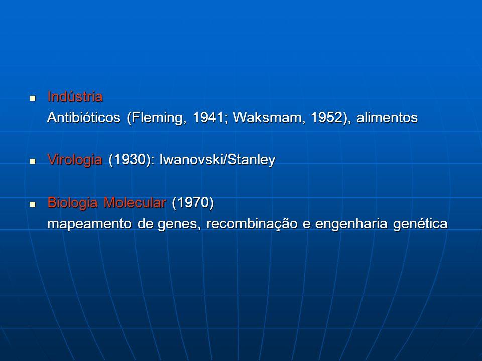 A idade de ouro da Microbiologia (1875-1915)
