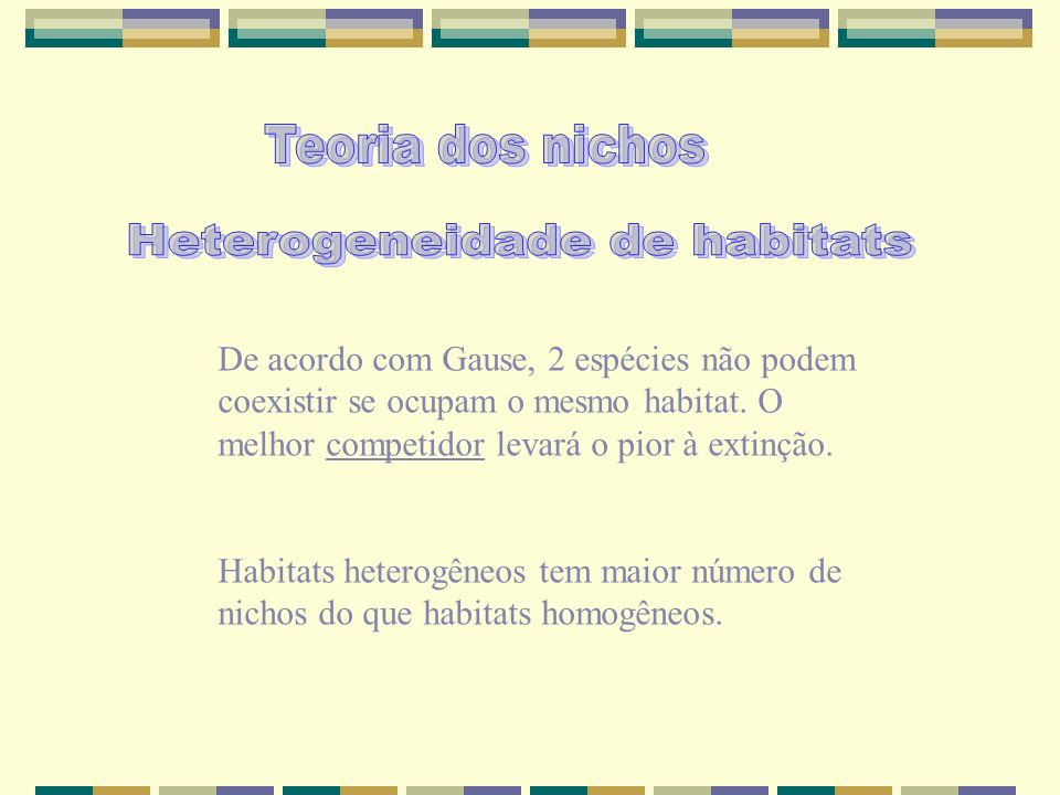 Heterogeneidade de habitats
