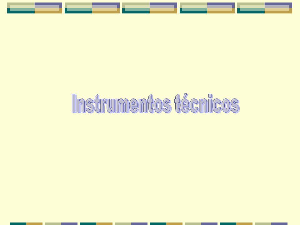 Instrumentos técnicos