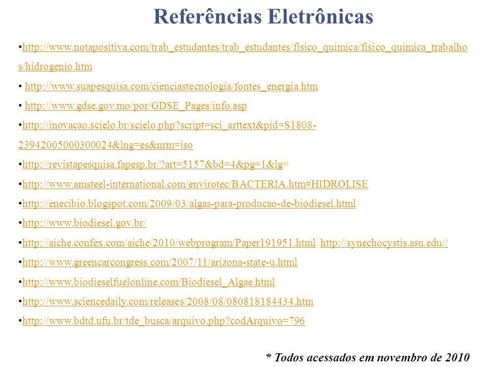 Referências Eletrônicas