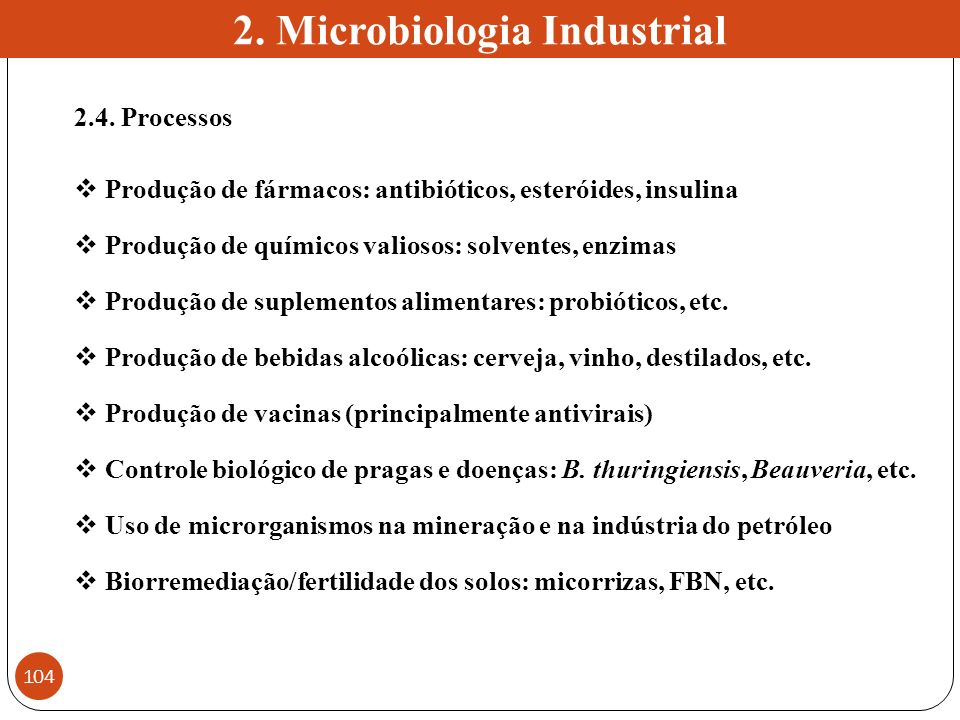 2. Microbiologia Industrial