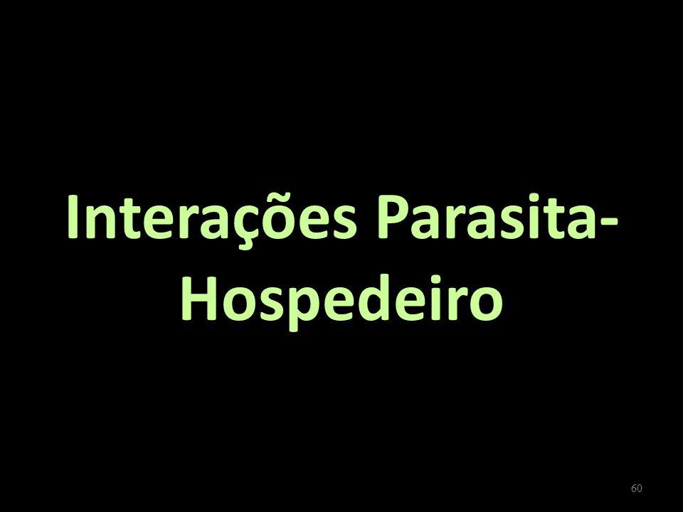 Interações Parasita-Hospedeiro